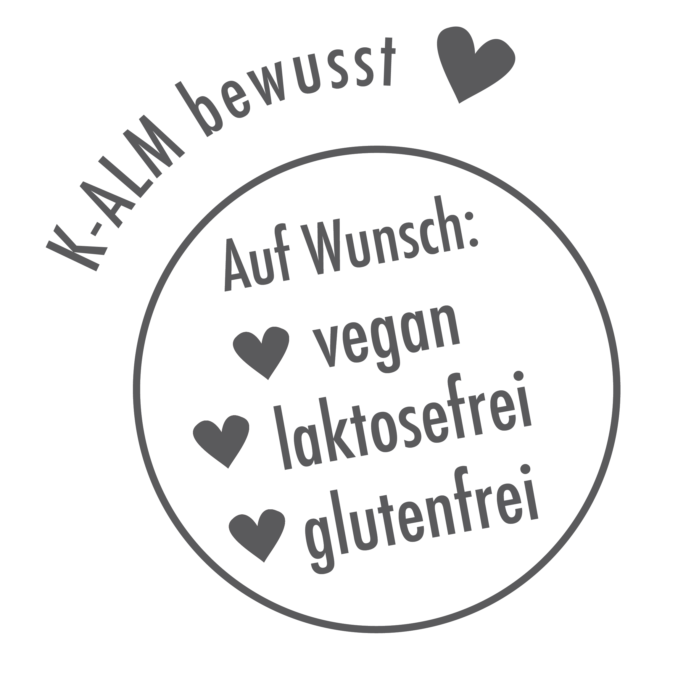 vegan - laktosefrei - glutenfrei